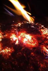 Bonfire firing - New Year's Eve 2015