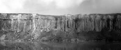 Clee Hil: flooded quarry
