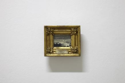 Pedar Balke's tiny landscape - Stormy Sea (1870)