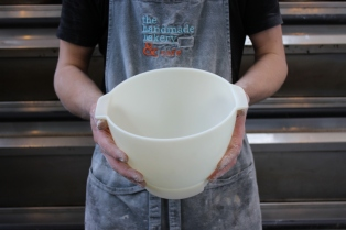 Aaron's baking bowl - Handmade Bakery, 2015