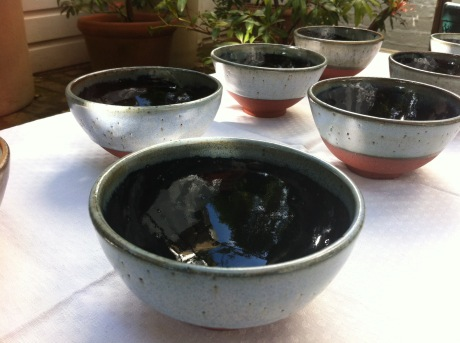 Series of small Clee Hill bowls