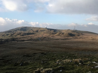 Titterston Clee Hill plateau