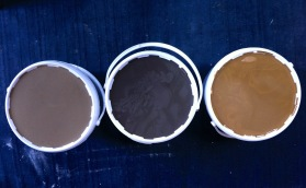 Glaze ingredients drying (dhustone, wood ash and local clay)