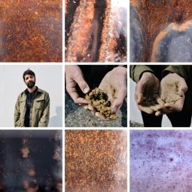 Kate Hannett's tiled mosaic of photos