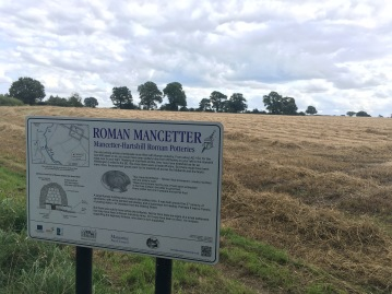 Roman kiln site at Mancetter